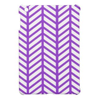 Purple Chevron Folders iPad Mini Case