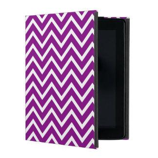 Purple Chevron iPad Case