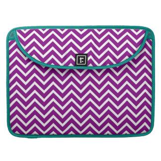 Purple Chevron MacBook Pro Sleeve
