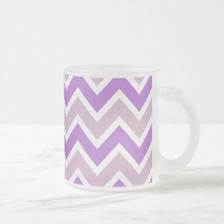 Purple Chevron Mug