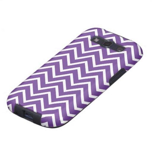 Purple Chevrons Samsung Galaxy S3 Case