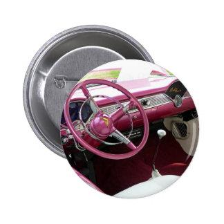 Purple Chevy Bel Air 2 Inch Round Button