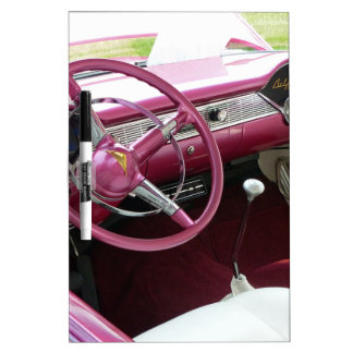 Purple Chevy Bel Air Dry-Erase Board