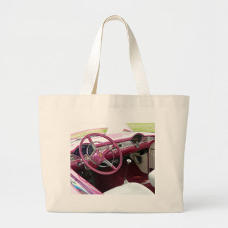 Purple Chevy Bel Air Jumbo Tote Bag