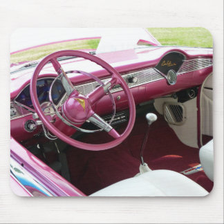 Purple Chevy Bel Air Mouse Pad