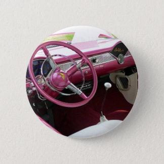 Purple Chevy Bel Air Pinback Button