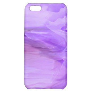 Purple Chiffon iPhone case Cover For iPhone 5C