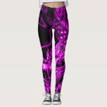 "Purple Chinese Dragon Art Leggings<br><div class=""desc"">Purple Chinese Dragon Art Leggings by Willy Warez.</div>"