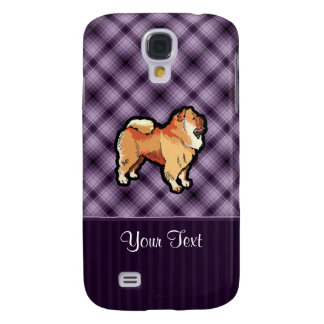 Purple Chow Chow Galaxy S4 Case