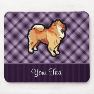 Purple Chow Chow Mouse Pad