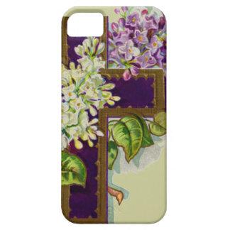 Purple Christian Cross iPhone 5 Case