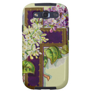 Purple Christian Cross Samsung Galaxy S3 Case