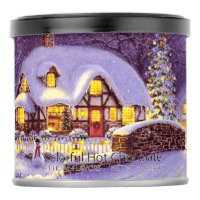 Purple Christmas Cottage Hot Chocolate Drink Mix