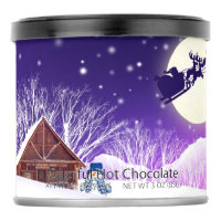 Purple Christmas Hot Chocolate Drink Mix