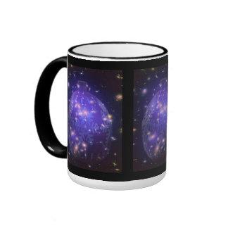 Purple Christmas Ornament Christmas Cups Coffee Mug