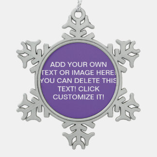 Purple Christmas Ornaments Make, Design Your Own