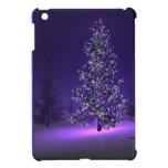 Purple Christmas tree iPad Mini Case