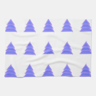 Purple Christmas Tree {} Kitchen Towel