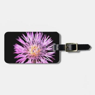 Purple Chrysanthemum Tag For Luggage