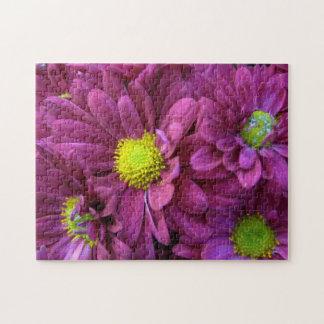 Purple Chrysanthemums Puzzles