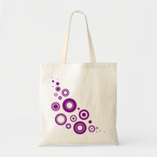 Purple Circles Bag