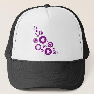 Purple Circles Cap
