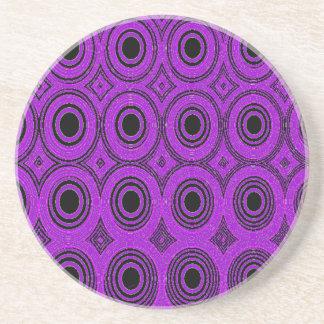 Purple Circles Coasters