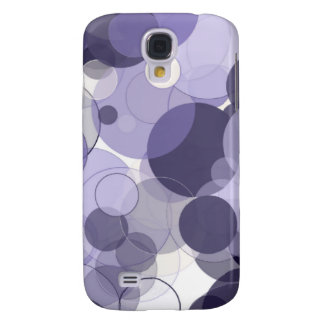 Purple Circles Samsung Galaxy S4 Cover