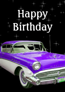 Muscle Car Birthday Gifts On Zazzle