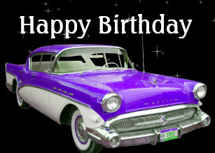 Muscle Car Birthday Cards Zazzle