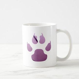 Purple Claw Classic White Coffee Mug