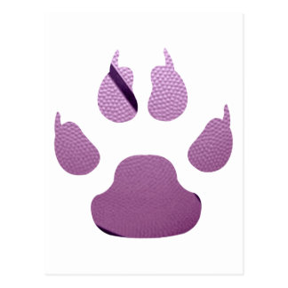 Purple Claw Postcard