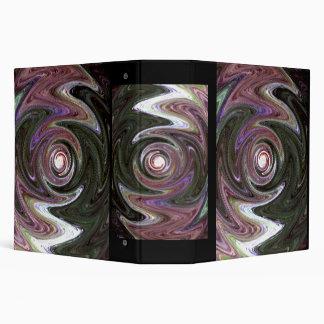 Purple Claws 3 Ring Binder