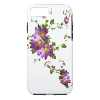 Purple Clematis Flower Plant Floral Flowering Vine iPhone 8/7 Case