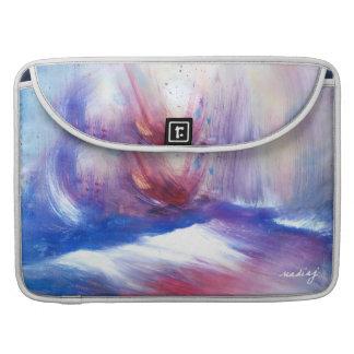 Purple Cloud Shores Laptop Case Sleeves For MacBook Pro