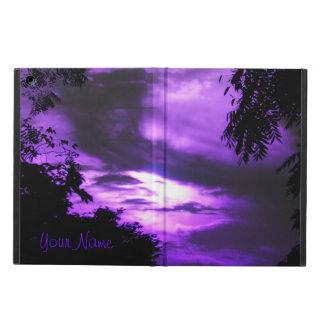 Purple Clouded Sunrise iPad Air Powis Case