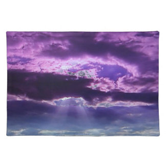 Purple Clouds Place Mats