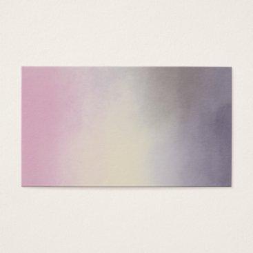 Professional Business Purple Clouds Spiritual Sky Light Business Card