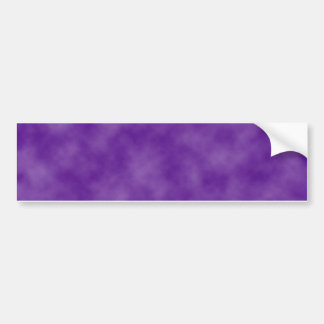 Purple Clouds Template Bumper Sticker