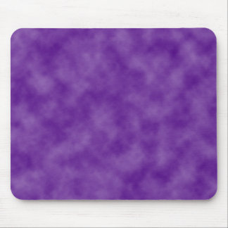 Purple Clouds Template Mouse Pad