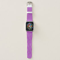 Purple Clover Ribbon by Kenneth Yoncich Apple Watch Band