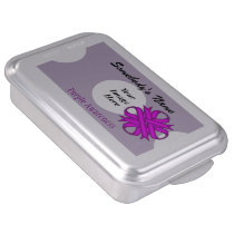 Purple Clover Ribbon by Kenneth Yoncich Cake Pan