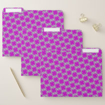 Purple Clover Ribbon by Kenneth Yoncich File Folder