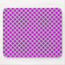 Purple Clover Ribbon by Kenneth Yoncich Mouse Pad