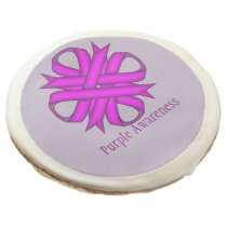 Purple Clover Ribbon by Kenneth Yoncich Sugar Cookie