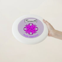 Purple Clover Ribbon by Kenneth Yoncich Wham-O Frisbee