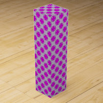 Purple Clover Ribbon by Kenneth Yoncich Wine Box