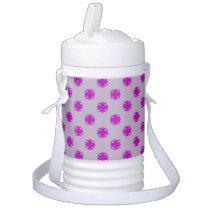 Purple Clover Ribbon Cooler