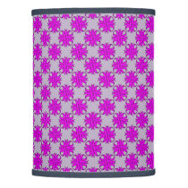 Purple Clover Ribbon Lamp Shade