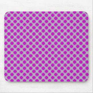Purple Clover Ribbon Mouse Pad